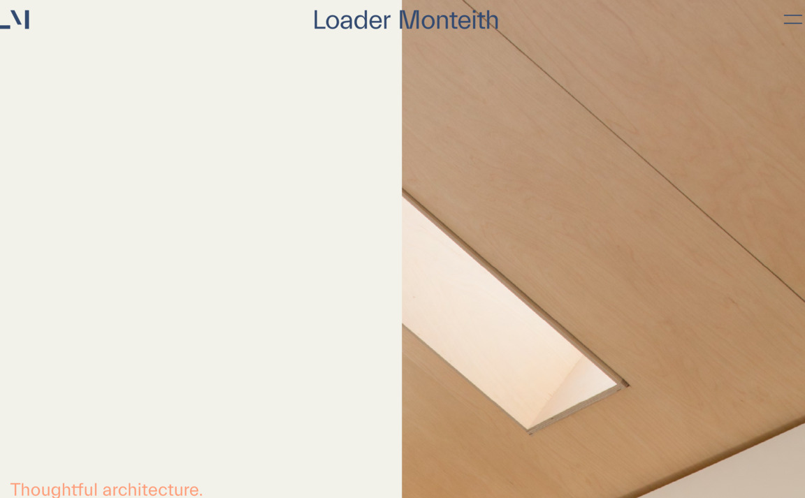 Loader Monteith Architects
