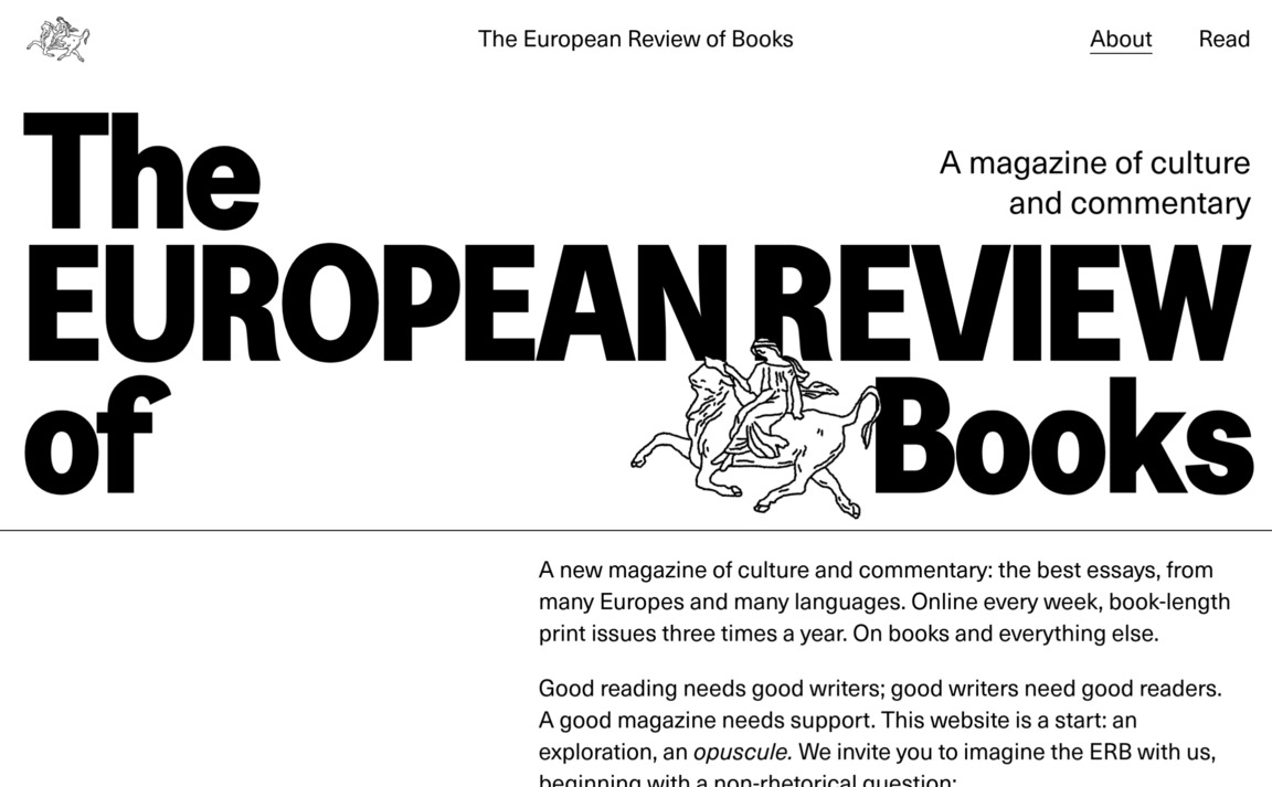 The European Review of Books