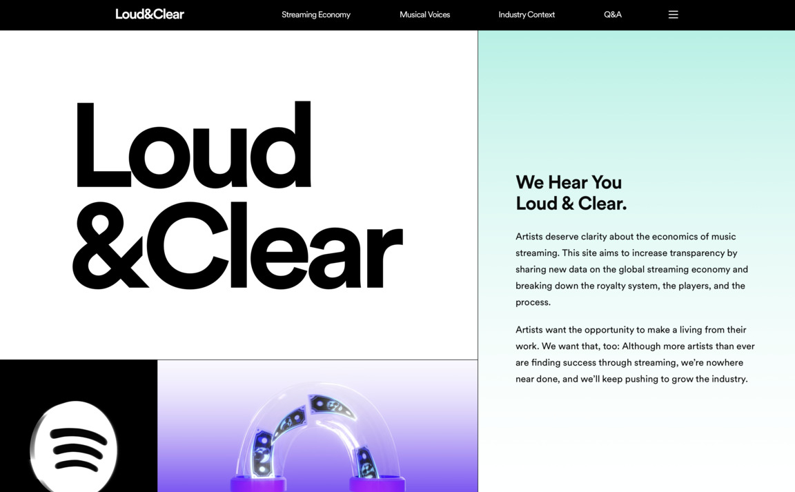 Loud and Clear — Spotify