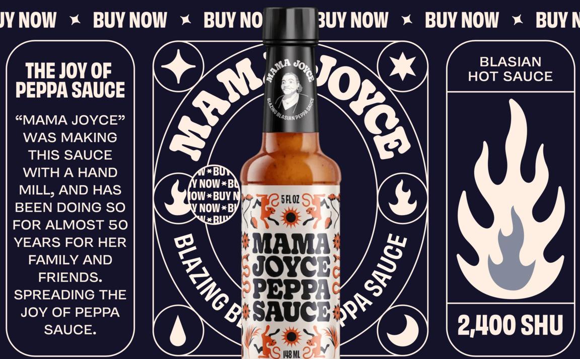 Mama Joyce Peppa Sauce