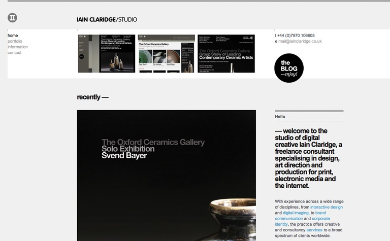 Iain Claridge Studio