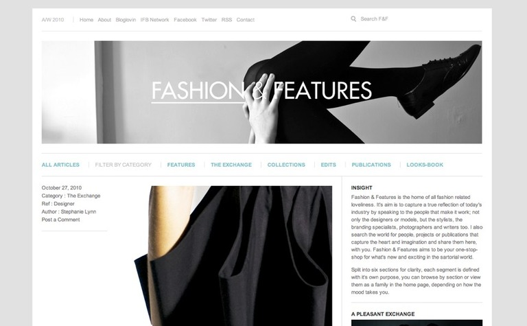 Fashion & Features