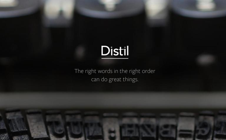 Distil Copywriting