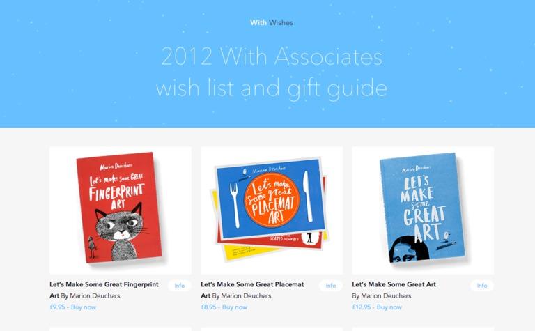 With Associates: 2012 Wish List