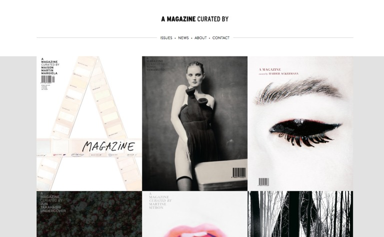 A MAGAZINE curated by