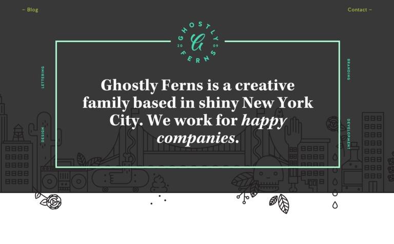 Ghostly Ferns