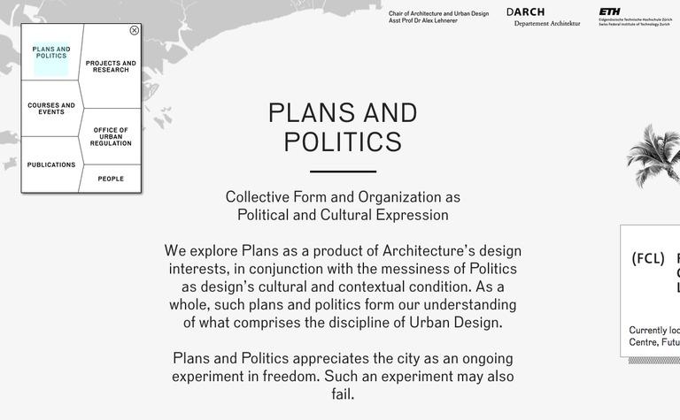 Plans & Politics