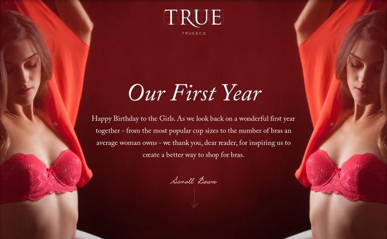 True&Co — Anniversary