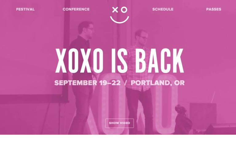 XOXO 2013