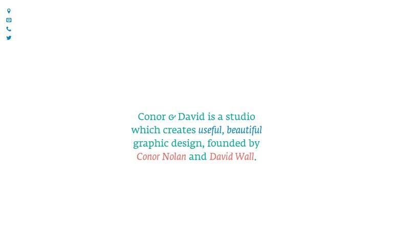 Conor & David