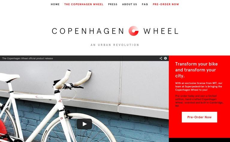 Superpedestrian — The Copenhagen Wheel