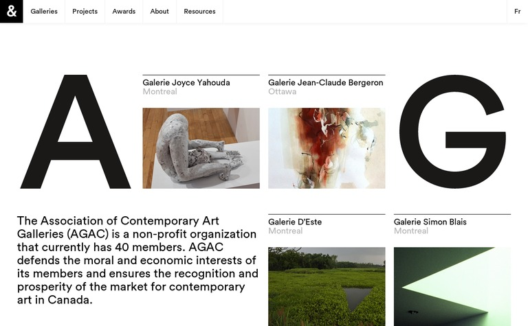 Contemporary Art Galleries Association