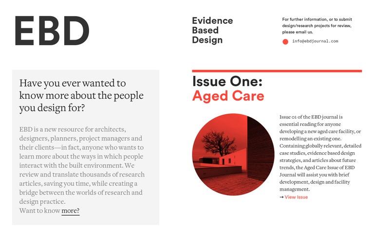 Evidence Based Design Journal