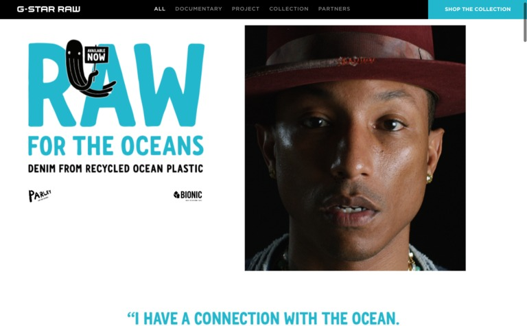 G-Star — Raw for the Oceans