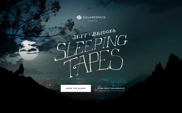 Squarespace — Sleeping Tapes