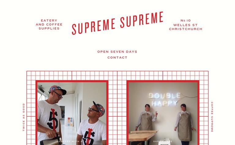 Supreme Supreme