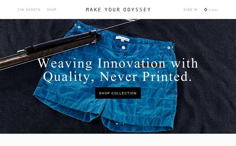 Make Your Odyssey