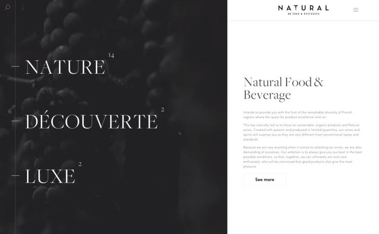 Natural Food & Beverages