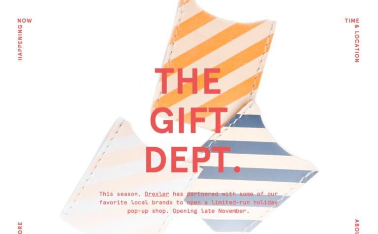The Gift Department at Drexler