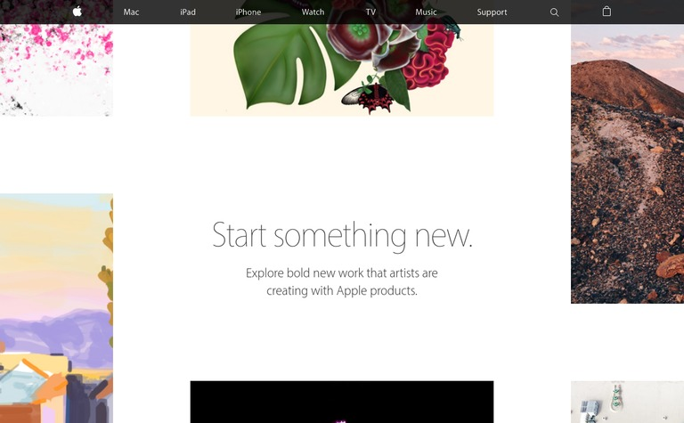 Apple — Start Something New