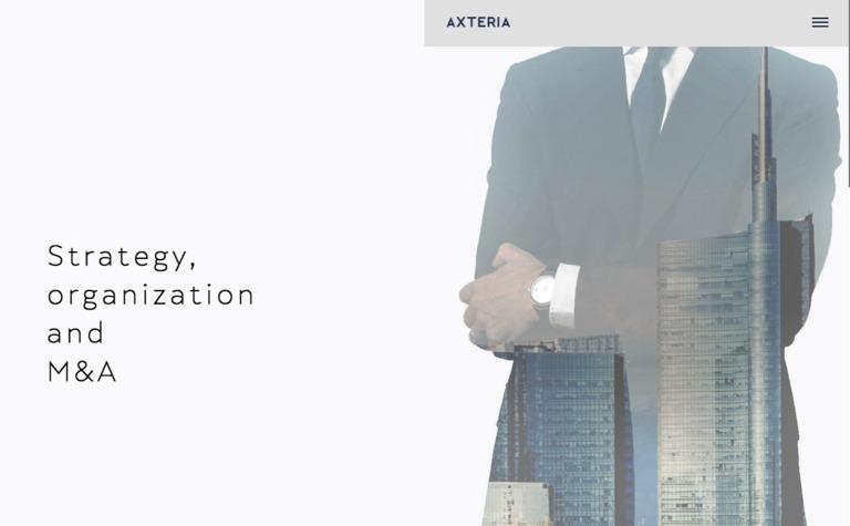 Axteria Strategy Consultant