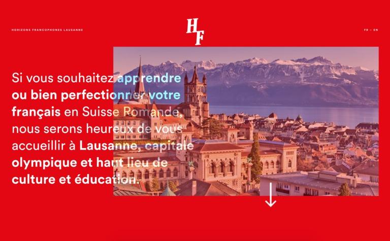 Horizons Francophones Lausanne