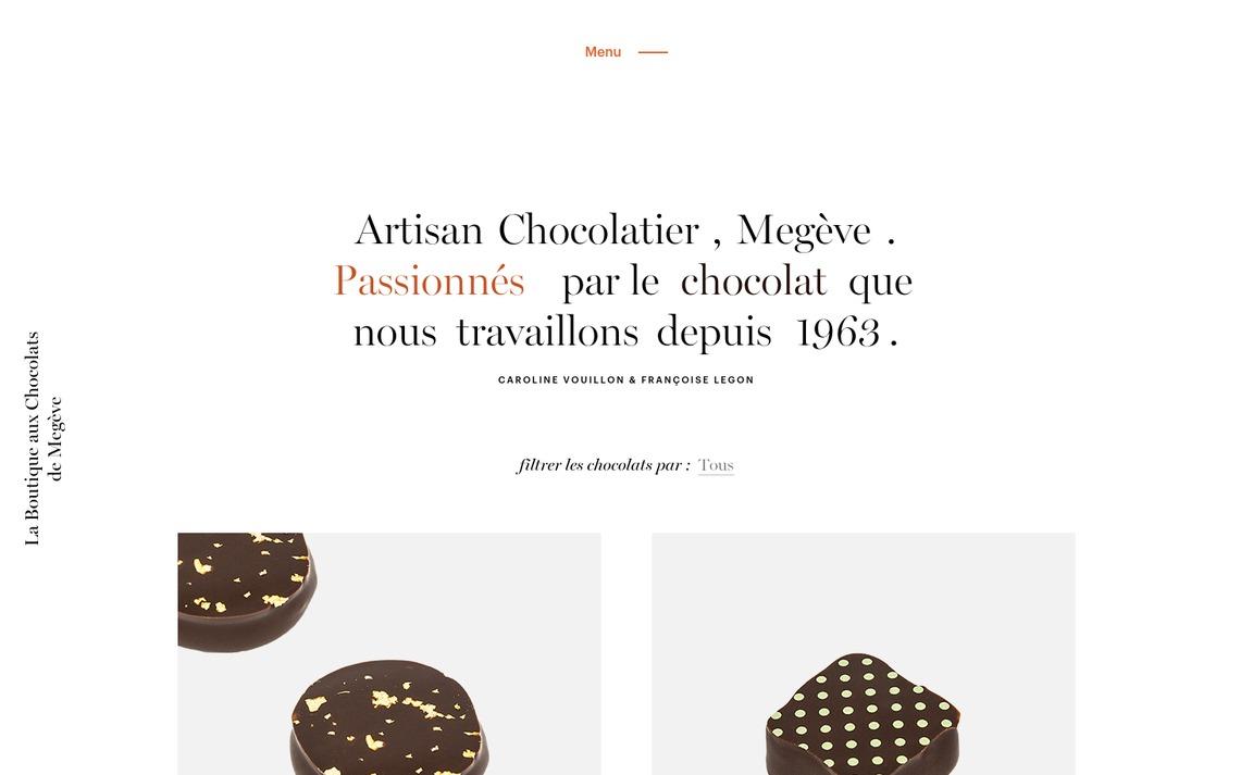 La Boutique aux Chocolats de Megève