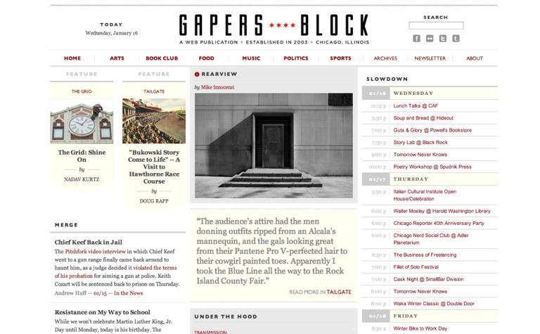 Gaper's Block