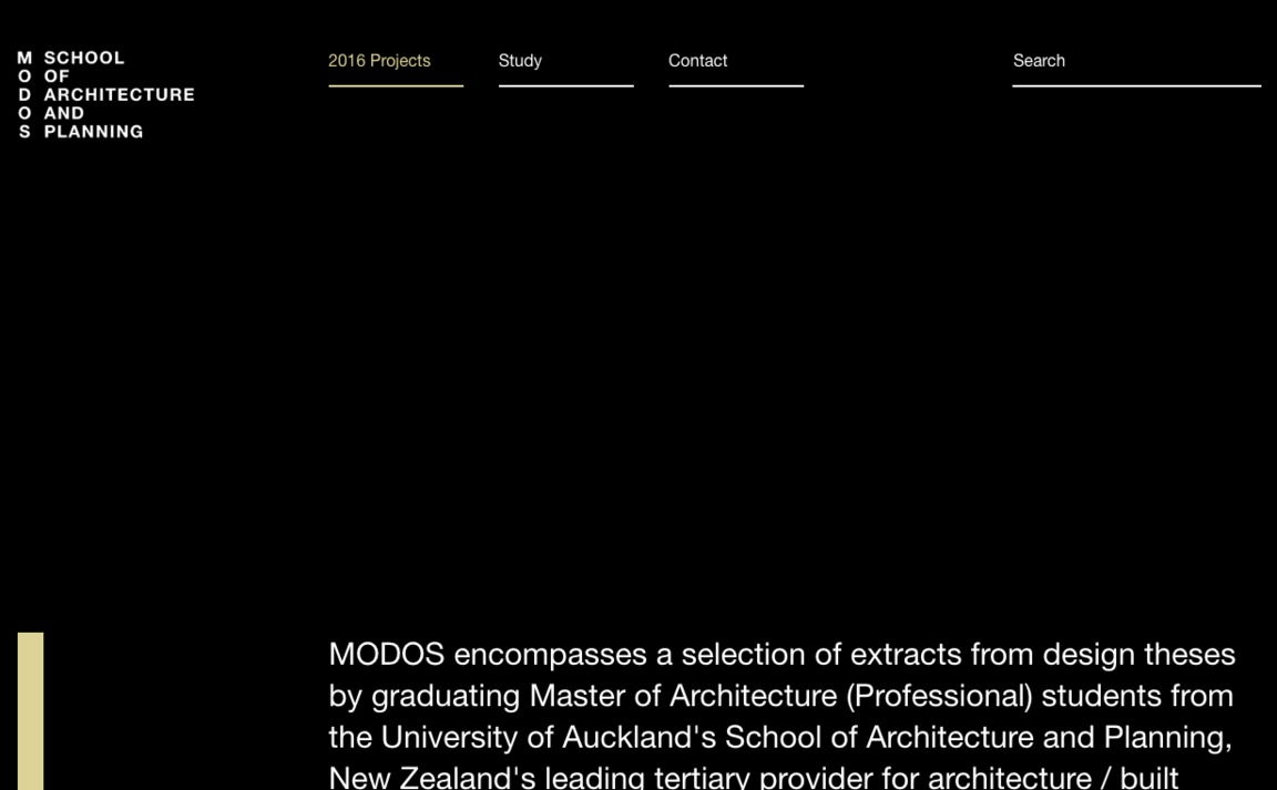 Master of Architecture — The University of…