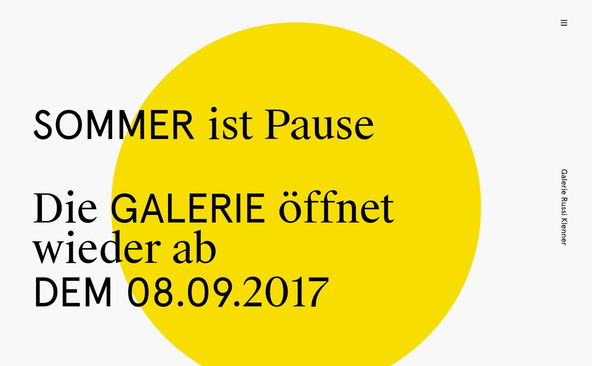 Galerie Russi Klenner