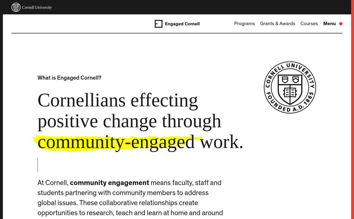 Engaged Cornell