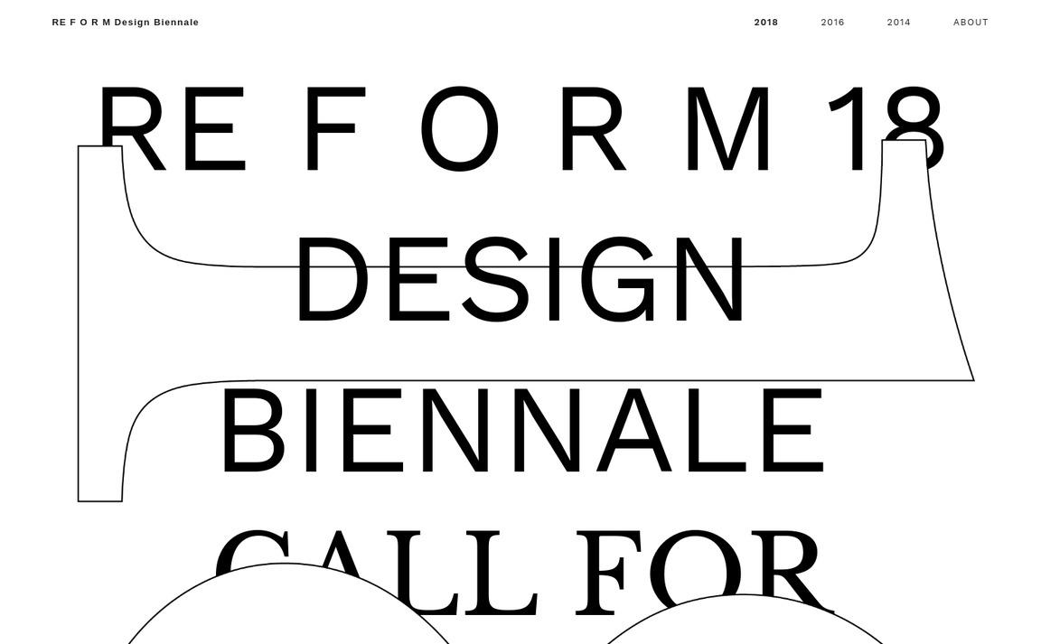 Reform 18 Design Biennale