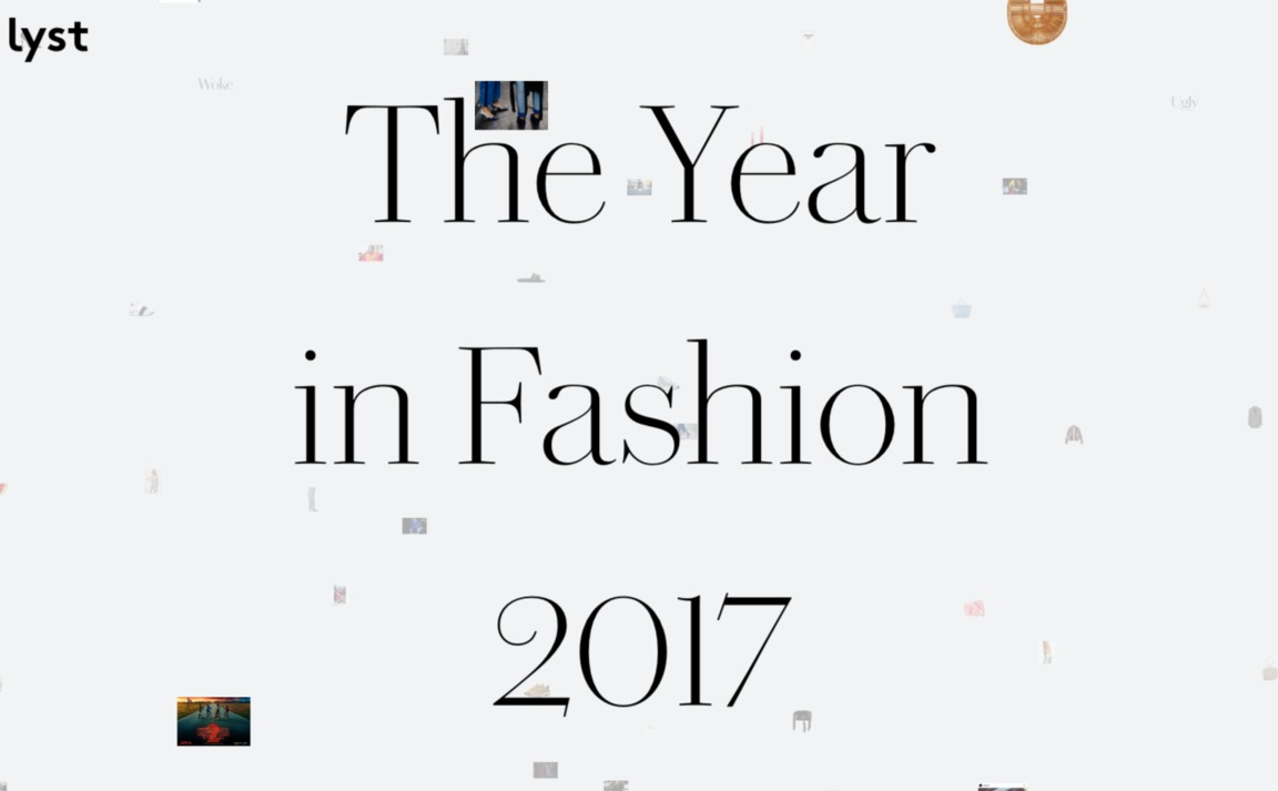 Lyst — The Year in Fashion 2017