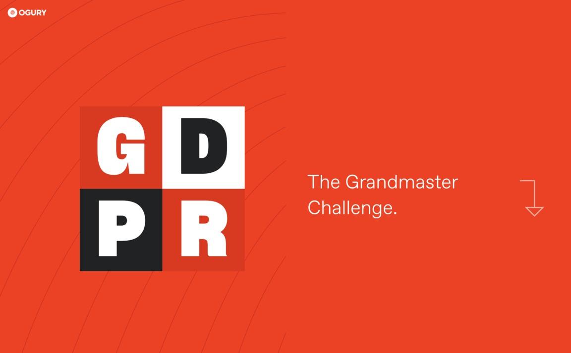 GDPR — The Grandmaster Challenge