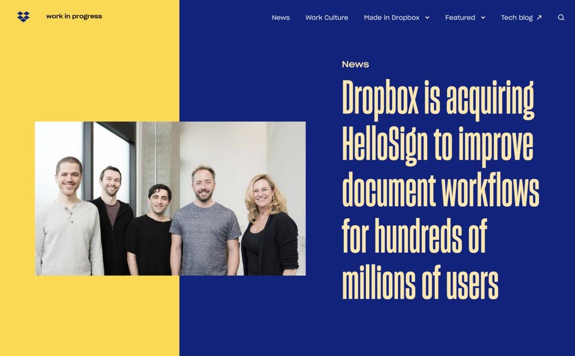 Dropbox — Blog