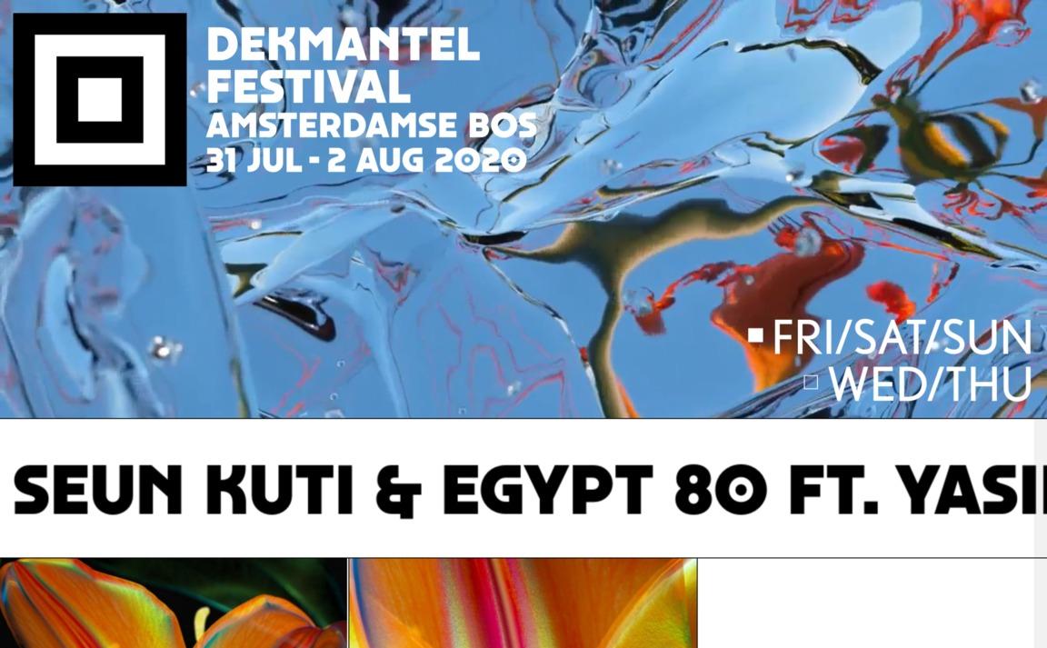 Dekmantel Festival 2020