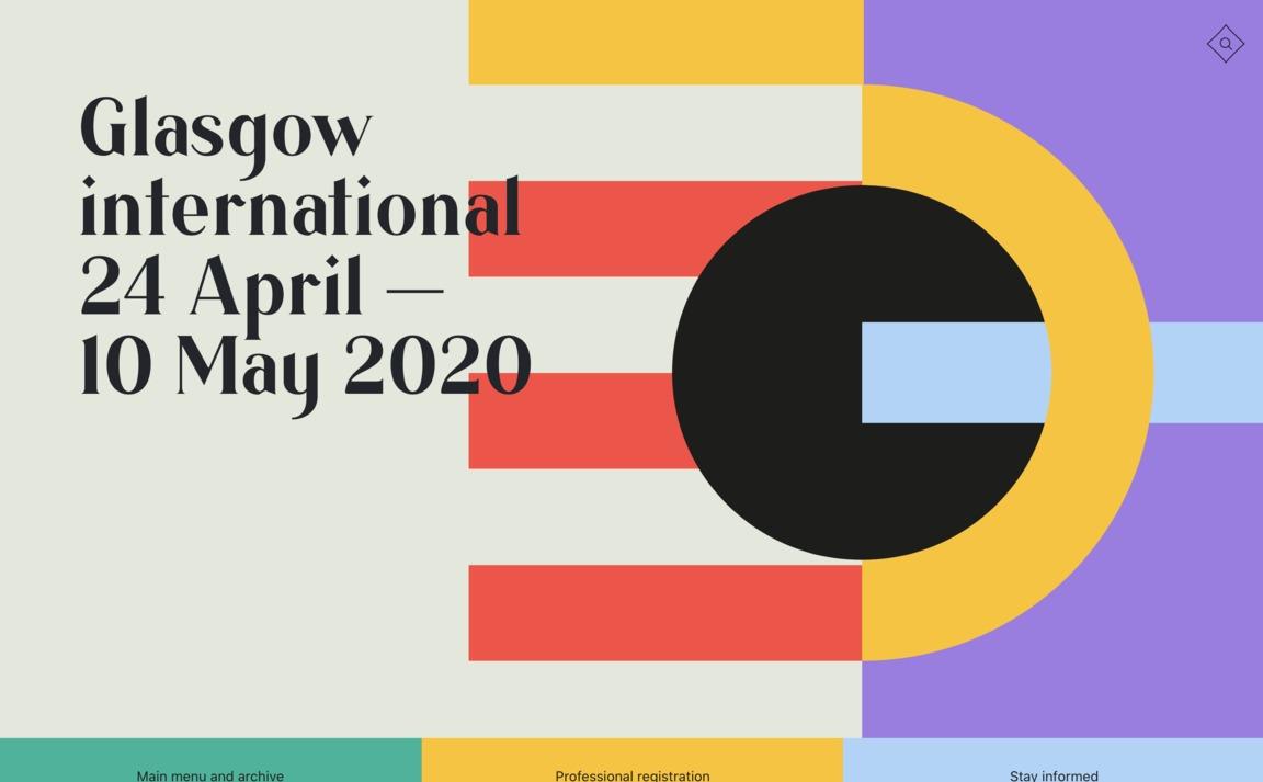 Glasgow International —2020