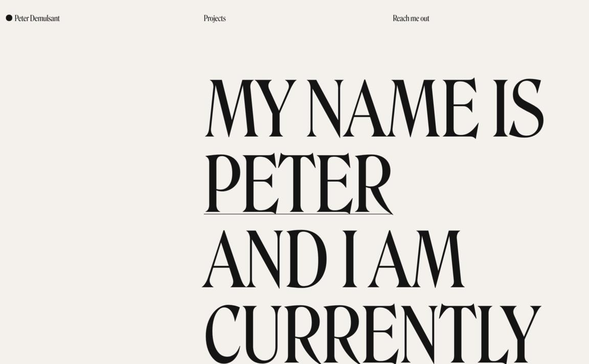 Peter Demulsant