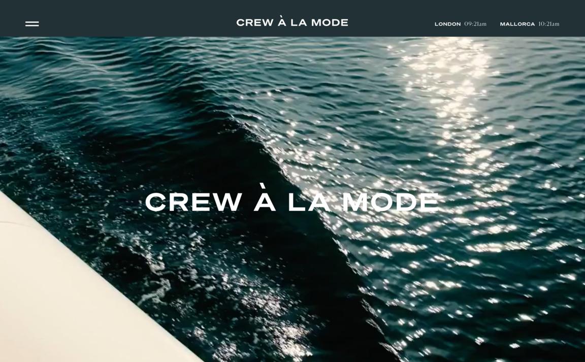 Crew à la Mode